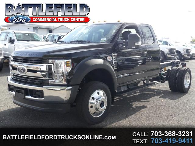 2019 Ford F-450 SD SuperCab XLT 4x4 Wrecker Chassis