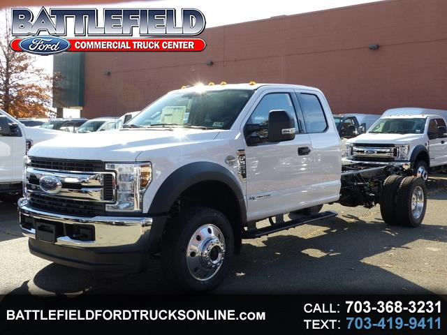 2019 Ford F-550 SuperCab XLT 4x4 Wrecker Chassis
