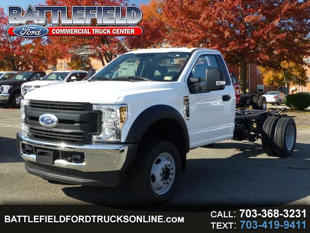 2019 Ford F-550 Reg Cab XL 4x4 Chassis