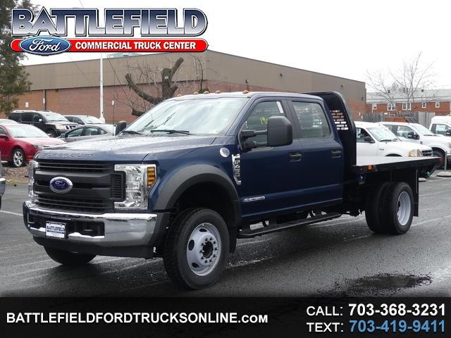 2019 Ford F-450 SD Crew Cab XL w/ 10' Flat Bed