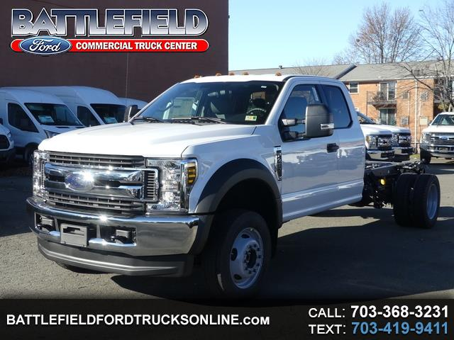 2019 Ford F-450 SD SuperCab XLT 4x4 Chassis