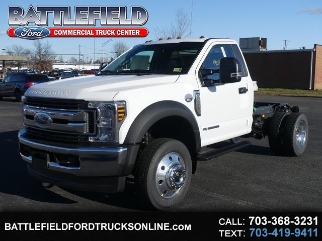 2019 Ford F-450 SD REG CAB 4X4 CHASSIS CAB
