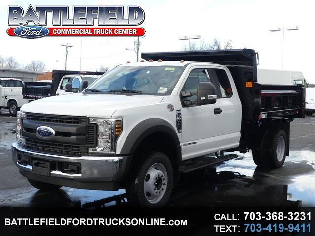 2019 Ford Super Duty F-450 DRW SuperCab XL w/ 9' Dump