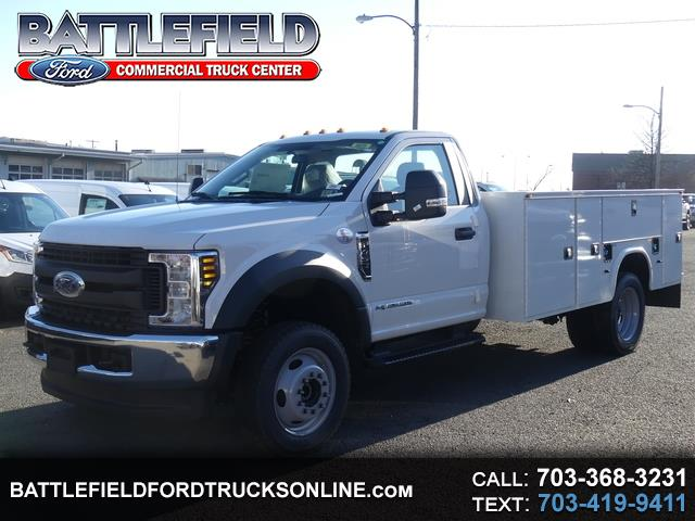2019 Ford Super Duty F-450 DRW Reg Cab 4x4 XL w/ 11' Service Body
