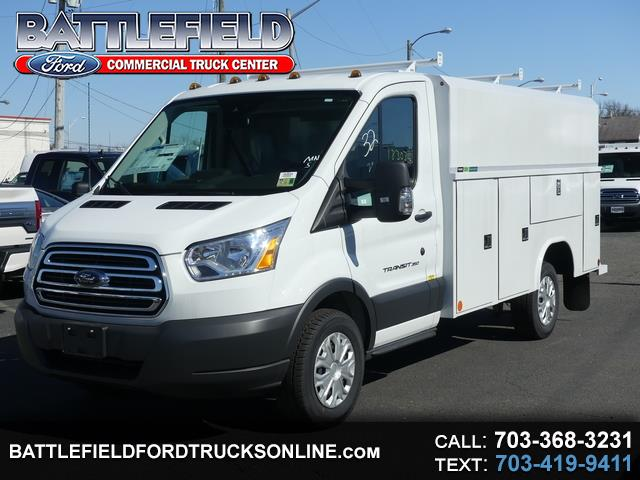 2018 Ford Transit Cutaway COMMERCIAL CUTAWAY W/ 11' ENCLOSED SERVICE BODY