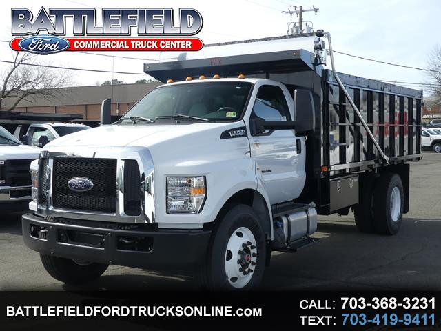 2018 Ford F-750 Crew Cab XL w/ 16' Trash Dump