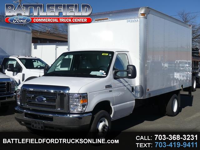2019 Ford E-Series Cutaway Commercial Cutaway w/ 14' Dry Freight Box