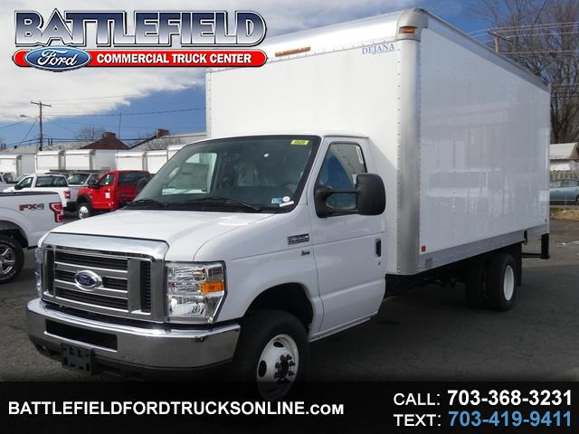 2019 Ford E-Series Cutaway Commercial Cutaway w/ 16' Dry Freight Box