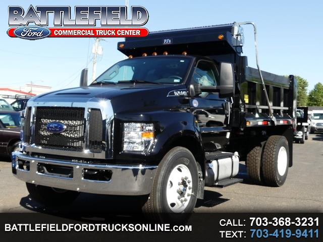 2019 Ford F-650 Reg Cab XL w/10' Dump Body