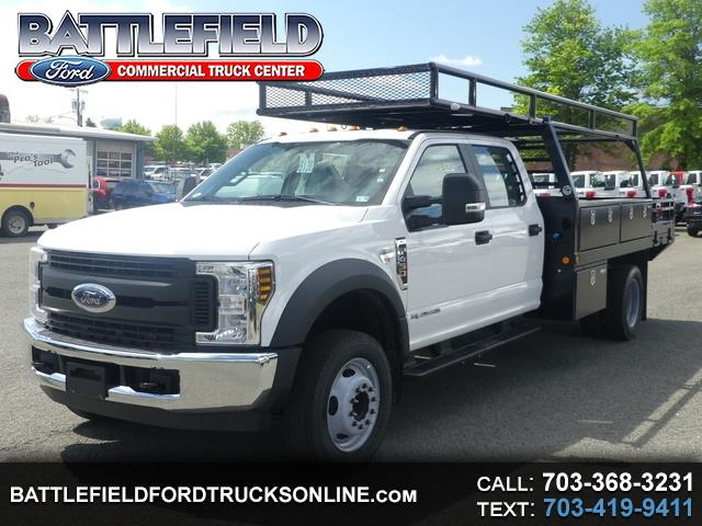 2019 Ford Super Duty F-450 DRW Crew Cab XL w/ 12' Flat Bed