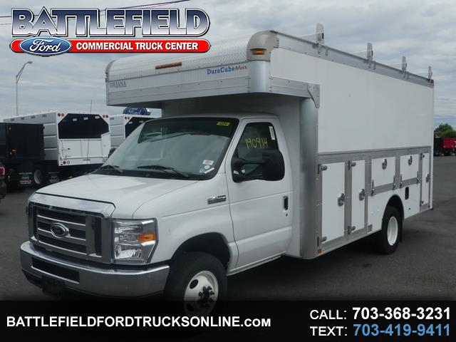 2019 Ford E-Series Cutaway Commercial Cutaway w/ 14' Enclosed Service Body