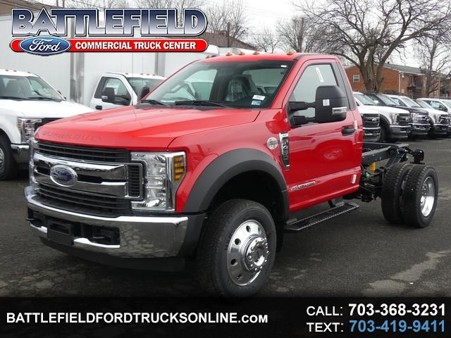 2019 Ford F-450 SD Reg Cab XLT Chassis Cab