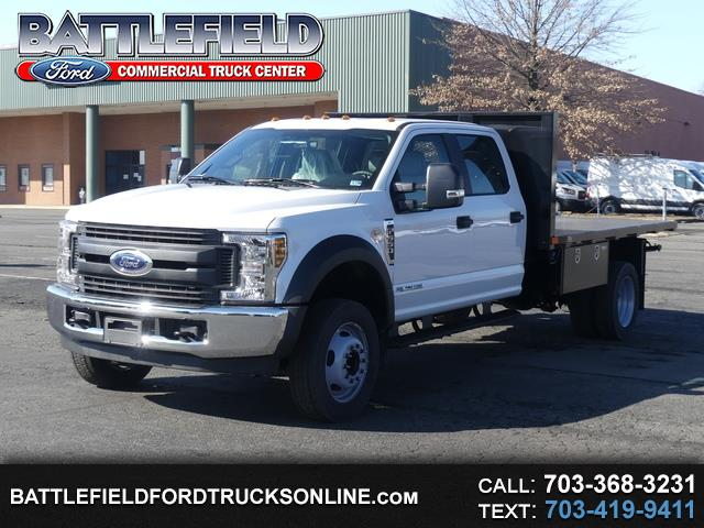 2019 Ford F-550 Crew Cab XL w/ 12' Flat Bed