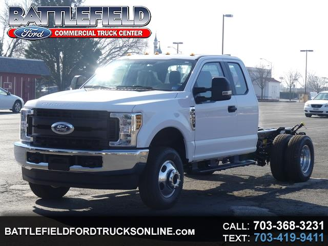 2019 Ford F-350 SD SuperCab 4x4 XL Chassis Cab