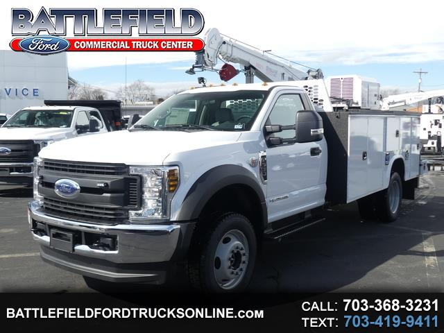 2019 Ford F-550 Reg Cab XL w/ 11' Crane Body