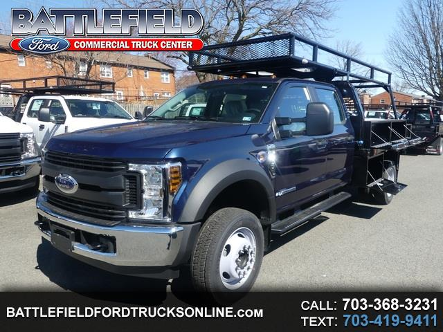2019 Ford Super Duty F-450 DRW Crew Cab XL w/ 10' Concrete Body