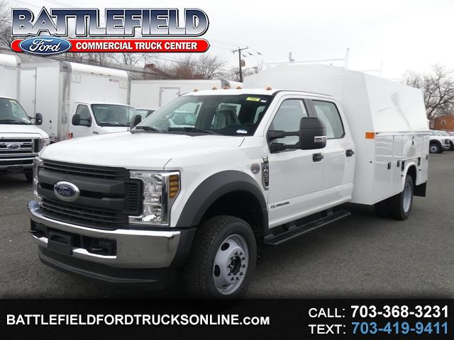 2019 Ford F-450 SD Crew Cab 4x4 XL w/11' Enclosed Utility Body
