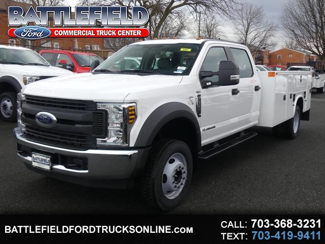 2019 Ford F-550 Crew Cab 4x2 XL w/11' Utility Body