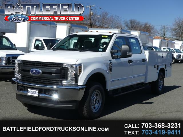 2019 Ford F-350 SD Crew Cab 4x4 XL w/9' Utility Body