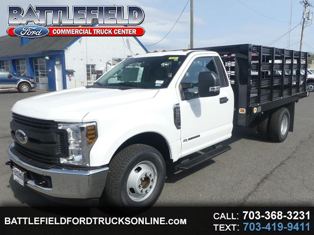 2019 Ford F-350 SD Reg Cab XL w/12' Stake Dump Body