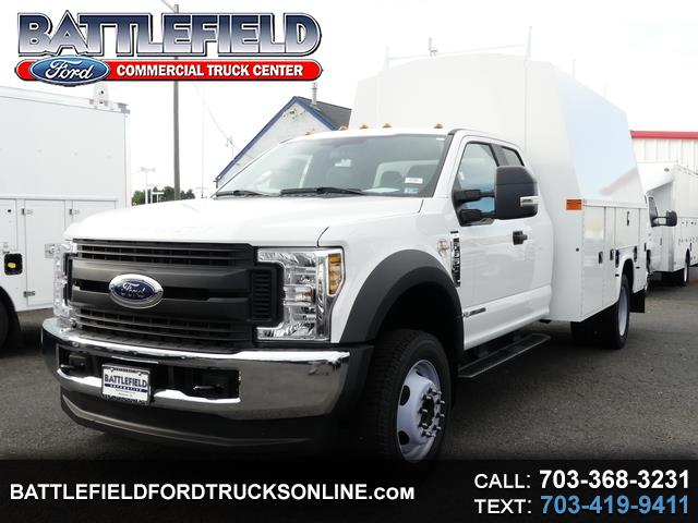 2019 Ford F-550 SuperCab 4x4 XL w/ 11' Enclosed Utility Body