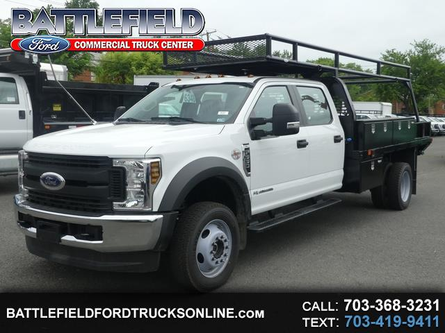2019 Ford F-550 Crew Cab 4x4 XL w/12' Flat Bed