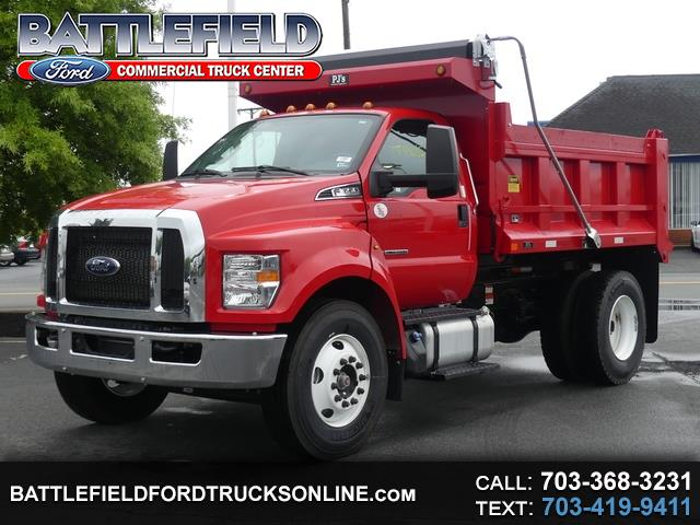 2019 Ford F-650 Reg Cab w/10' Dump Body
