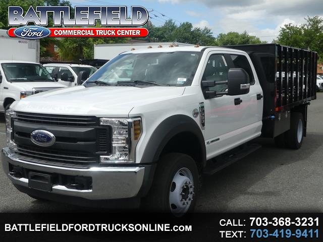 2019 Ford F-550 Crew Cab 4x2 XL w/12' Stake Body