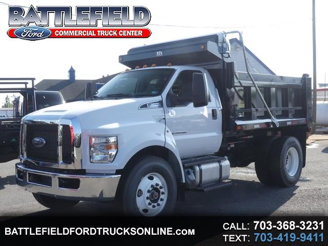 2019 Ford F-650 Reg Cab 4x2 XL w/10' Dump Body