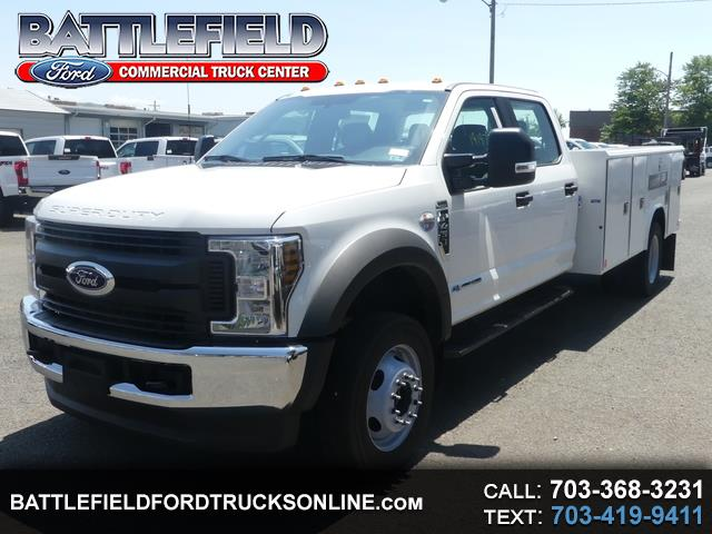 2019 Ford F-450 SD Crew Cab 4x4 XL w/11' Utility Body