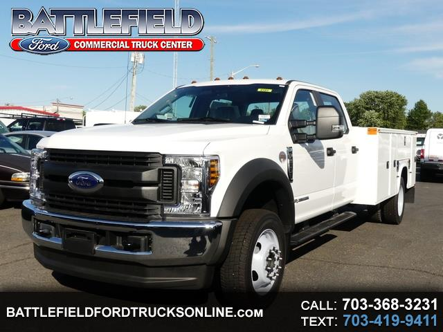 2019 Ford F-550 Crew Cab 4x4 XL w/11' Utility Body