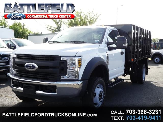 2019 Ford F-450 SD Reg Cab 4x2 XL w/12' Stake Body