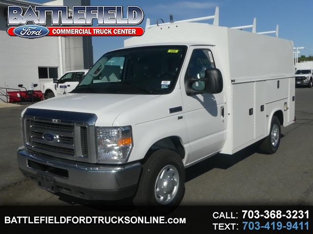 2019 Ford E-Series Cutaway Commercial Cutaway w/ 11' Enclosed Service Body