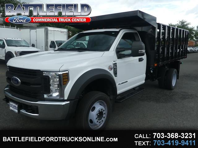 2019 Ford F-450 SD Reg Cab 4x2 Stake Body Dump