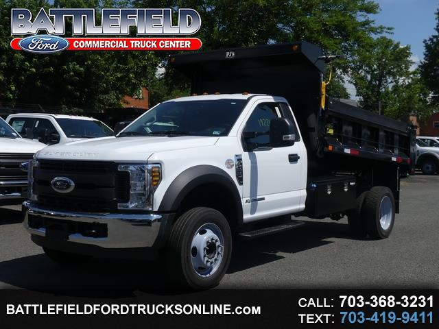 2019 Ford F-550 Reg Cab 4x2 XL w/11' Dump Body