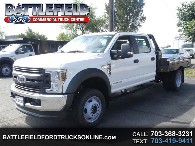 2019 Ford F-450 SD Crew Cab XL w/ 10' Gooseneck Flat Bed