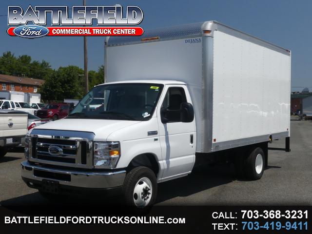 2019 Ford E-Series Cutaway Commercial Cutaway w/ 15' Dry Freight Box