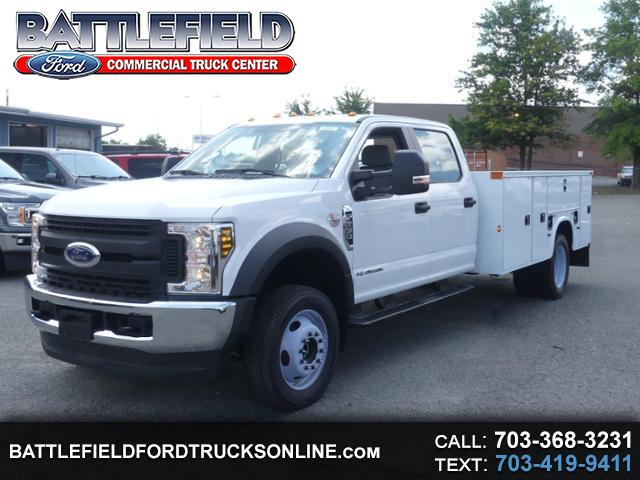 2019 Ford Super Duty F-550 DRW Crew Cab 4x4 XL w/11' Utility Body