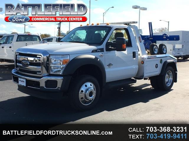 2016 Ford Super Duty F-450 DRW Reg Cab 4x4 XL