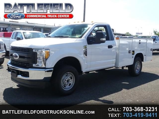 2017 Ford F-350 SD Reg Cab 4x4 XL w/ 9' Service Body