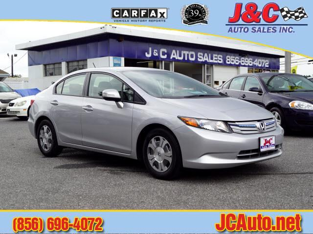 2012 Honda Civic Hybrid CVT AT-PZEV with Leather