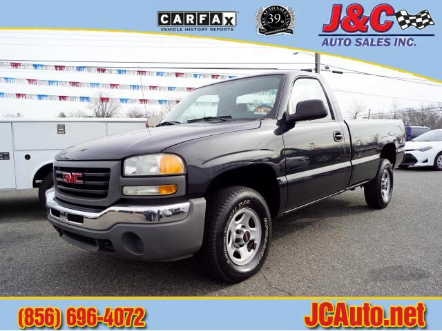 GMC Sierra 1500 Work Truck Long Bed 4WD 2004