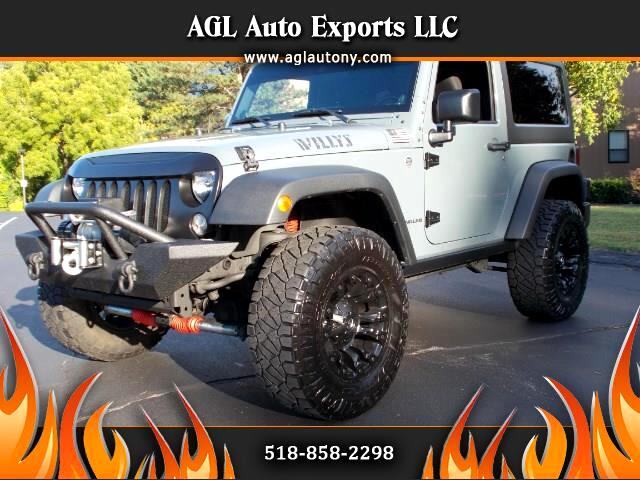 2014 Jeep Wrangler 4WD 2dr Willys Wheeler