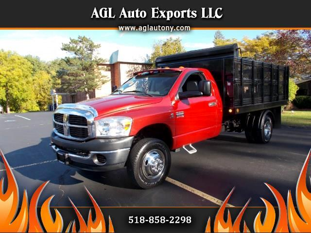 2008 Dodge Ram 3500 4wd REG CAB 12FT RACK BODY DUMP