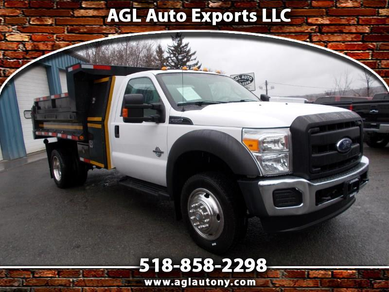 2013 Ford Super Duty F-550 DRW 2WD Reg Cab 141
