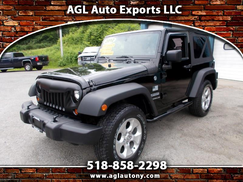 2012 Jeep Wrangler 4WD 2dr Sport
