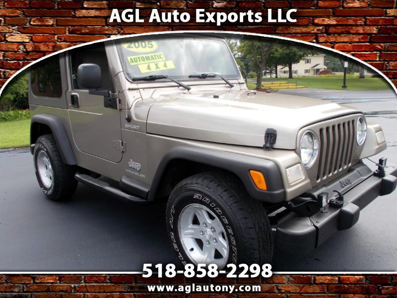 2005 Jeep Wrangler 2r TJ SPORT
