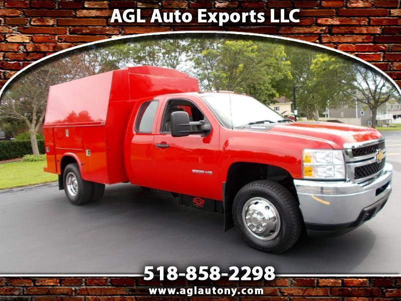 "2013 Chevrolet Silverado 3500HD 4WD Ext Cab 158.2"" Work Truck"