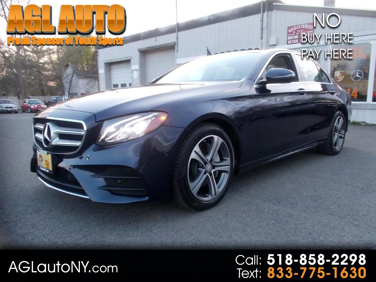 Mercedes-Benz E-Class E 300 Sport 4MATIC Sedan 2017
