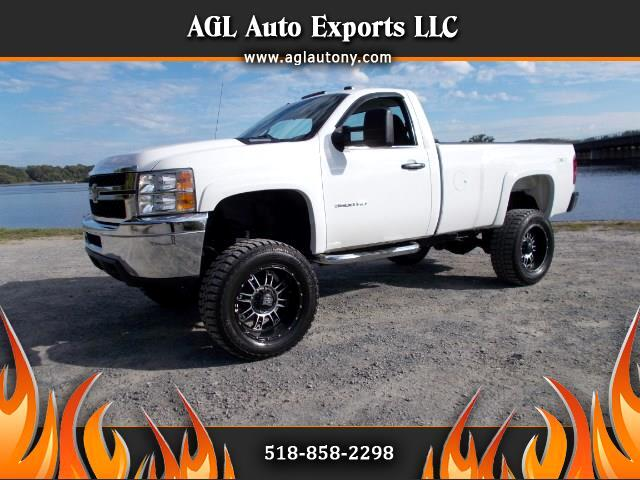 2013 Chevrolet Silverado 3500HD REG CAB LONG BOX 4WD LIFTED SUSPENSION RCX
